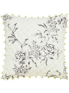 London in bloom cushion 40x40cm creme