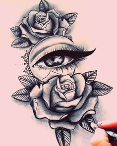 Тату с розой / Rózsa tetoválás - Tattoo Design Drawings, Pencil Art Drawings, Tattoo Sketches, Tattoo Designs, Tattoo Ideas, Designs Mehndi, Diy Tattoo, Dope Tattoos For Women, Shoulder Tattoos For Women