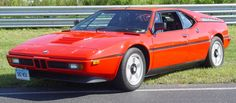 The one and only BMW supercar. BMW M1, 1978-1981.