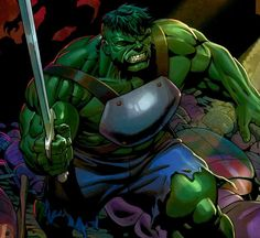 Hulk with a sword oh yeah.
