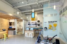 Coda electric vehicle retailer at los Angeles