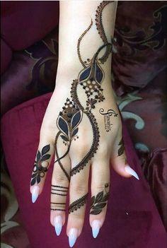 Ideas foot tattoo flowers simple for 2020 Wedding Henna Designs, Peacock Mehndi Designs, Mehndi Designs Book, Henna Designs Feet, Finger Henna Designs, Modern Mehndi Designs, Mehndi Designs For Fingers, Mehndi Design Pictures, Latest Mehndi Designs