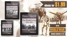 Winston Churchill, Wwi, Get Over It, World War, Ebooks, Anniversary, History, Historia