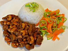 Sójové nudličky s kešu Tofu, Tempeh, Vegan V, Chicken Wings, Grains, Spaghetti, Rice, Beef, Meat