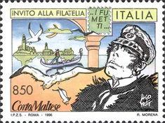 1996 - Invito alla Filatelia - i Fumetti: Corto Maltese