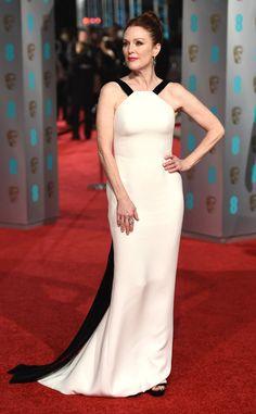 Julianne Moore from 2016 BAFTA Film Awards: Celebrity Arrivals | E! Online