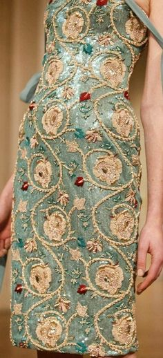 ~ Living a Beautiful Life ~ Alexis Mabille Spring/Summer 2012 details