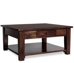 Plantation Square Coffee Table Dream Living Room Dreamlivingroom Plan