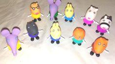Moddan Pokemon Mini Figures Pikachu Toys Topper - Lot of 24 Piece 1'' #Generic