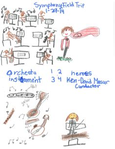 From a student who attended our Everyday Heroes concert