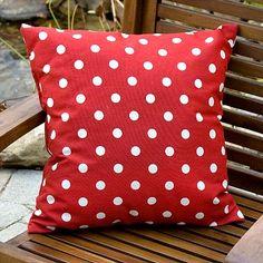 Polka-Dot Outdoor Decorative Pillow