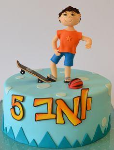 Skateboard cake - Matokilicious