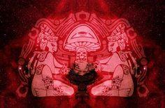 Mayan mushroom effigy