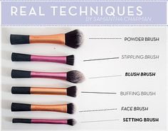 My Top Real Techniques Brushes | eBay
