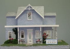 By Sharon Miniatures-QUARTER SCALE
