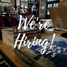Join our team! We're hiring for sales associate and barista positions in Toronto and a management position in New York! Check out our postings at http://ift.tt/1kJrZmf and submit an application online!