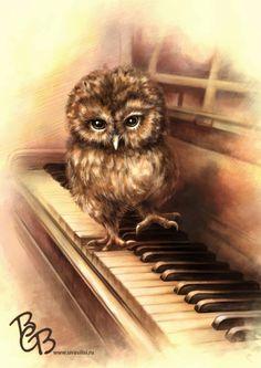 Любитель музыки (Рисунки и иллюстрации) - фри-лансер Василиса Волкова [Lisa21].
