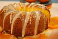 bolo de laranja molhado