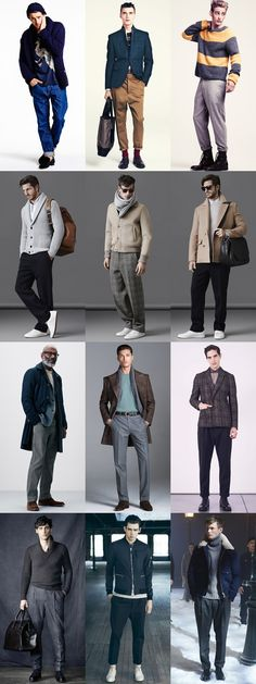 5 Key Men's 2015 Autumn/Winter Fashion Trends From London Collections: Key Piece - Wide-Legged/Relaxed Trousers, Wear It Now Lookbook Inspiration