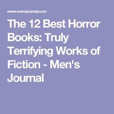 The 12 Best Horror Books: Truly Terrifying Works of Fiction - Men's Journal