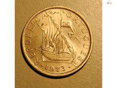 moeda de 10$00 de 1973