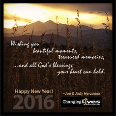 Happy New Year from Changing Lives! | Changing Lives Foundation Blog