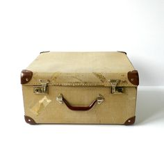 Vintage Cardboard Suitcase 1930s1940s by forgottenPLUM on Etsy ...