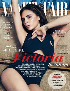 Victoria Beckham by Sebastian Kim for Vanity Fair Italia January 2014