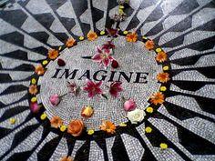 Imagine Mosaic, Strawberry Fields John Lennon Memorial, Central Park, New York City, New York Upper West Side, John Lennon Memorial, Rock N Roll, A New York Minute, Empire State Of Mind, I Love Nyc, Strawberry Fields, City That Never Sleeps, New York Travel