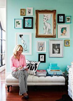 VINTAGE & CHIC: decoración vintage para tu casa · vintage home decor: La casa perfecta del perfecto vestidor · The perfect home with the per...