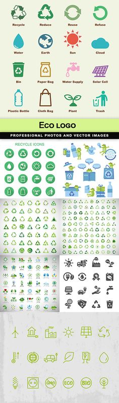 Eco logo - 8 EPS