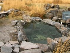 Natural Hot Springs with private outdoor soaking pools; middle of nowhere Oregon; perfect.