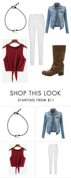 """""""Yuina Party"""" by solstice-dean-winters on Polyvore featuring LE3NO, J Brand and Prada Sport"""