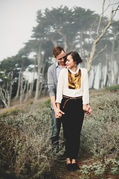 Love this couple!! A lot of it may have to do with the fact that this beautiful lady is my best friend but also they are so unbelievably cute together. Cassy and her boyfriend Johnny came down to the Bay Area for a visit and I just had to take photos of them. We shot a Sutro Baths because it was the…