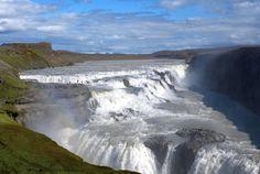 Iceland Golden circle - Gullfoss water falls