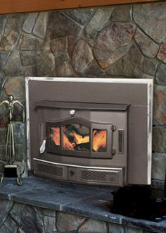 wood burning furnaces-indoor | ... wood fireplaces wood burning fireplace inserts freestanding wood Indoor Wood Furnace, Take That, Renewable Energy, Porches, Sweet Home, Fire, Home Decor, Asylum, Front Porches