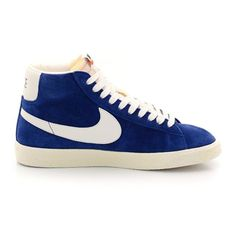 uk availability ed7e1 b3e39 ... Nike Blazer Mid premium Vintage suede Chaussure pour Femme Bleu foncé  Blanc,Stylish trainers hot ...