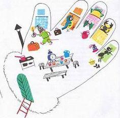 Kindergarten, Teaching, Crafts, Hands, Manualidades, Kindergartens, Education, Handmade Crafts, Craft