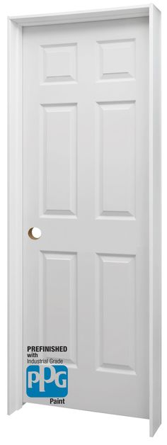 ... so we took care of the painting for you with our state-of-the-art factory-applied PPG Paint System. Classically styled and already assembled this door ...