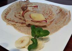 Bananenpfankuchen mit Apfelringen,es heißt immer auf alles vorbereitet sein - die beste denkbare Vorbereitung für einen Sonntagmorgen offeri...