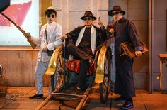 old style Shanghai gangsters by williamweilee888