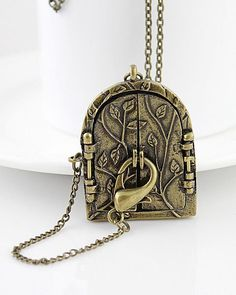 Awesome locket idea. It's different from your average heart locket.