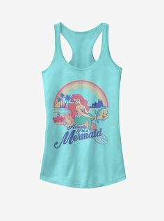 Disney On Ice, Run Disney, Little Mermaid Outfit, The Little Mermaid, Disney Shirts, Disney Outfits, Cute Tops For Girls, Animal Crossing Plush, Disney Princess Half Marathon