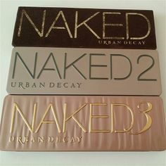 naked 1 2 and 3 by Klaudia Woning Personal Taste, March 2014, Urban Decay, Naked, Eyeshadow, Box, Style, Swag, Eye Shadow
