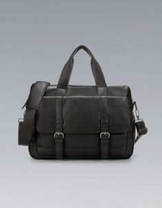 BRIEFCASE WITH BUCKLES - Business - Bags - Man - ZARA