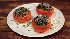 Stuffed Baked Tomatoes Recipe | The Chew - ABC.com