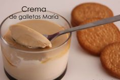 Crema de GALLETAS MARÍA; mas sabrosa y mas fácil que la típica CREMA PASTELERA! – En el Punto