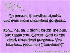 God of funerals = Drop-dead gorgeous ;)