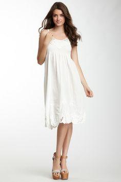 Monoreno Sleeveless Smocked Dress by Monoreno on @HauteLook