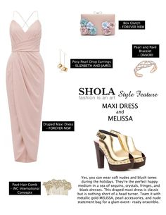 Low-maintenance, comfy, versatile, flattering.  These are just some of the reasons why a maxi dress should be your wardrobe staple. This dress is also perfect for days when you're in a rush or evenings when you want a hassle-free outfit.  Look more graceful in your next soirée by donning a delicate and figure hugging maxi dress. Pairing it with chic pair of heels makes the look party-approved.